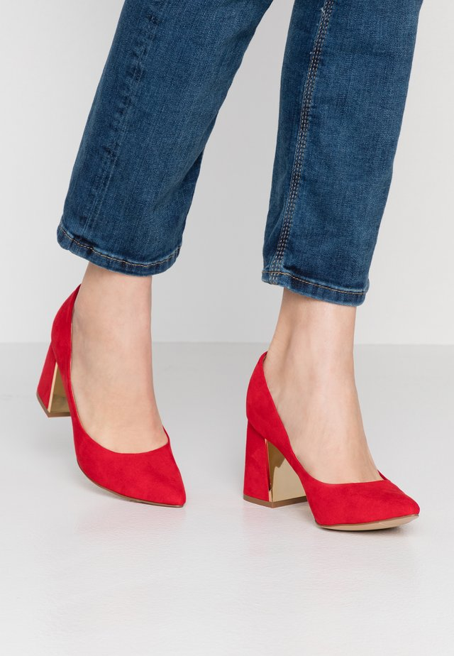 SEATED - Klassieke pumps - red