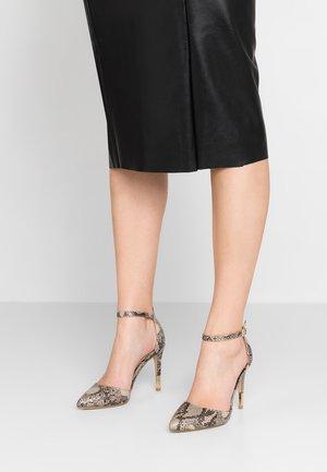 SERENITY - Zapatos altos - stone