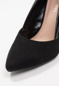 New Look - SLICE - Escarpins à talons hauts - black - 2