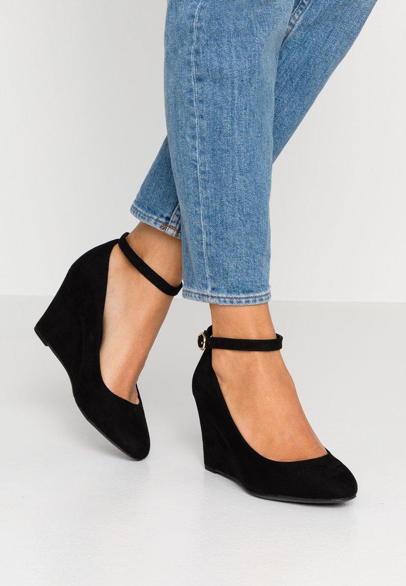 New Look - TING - Keilpumps - black