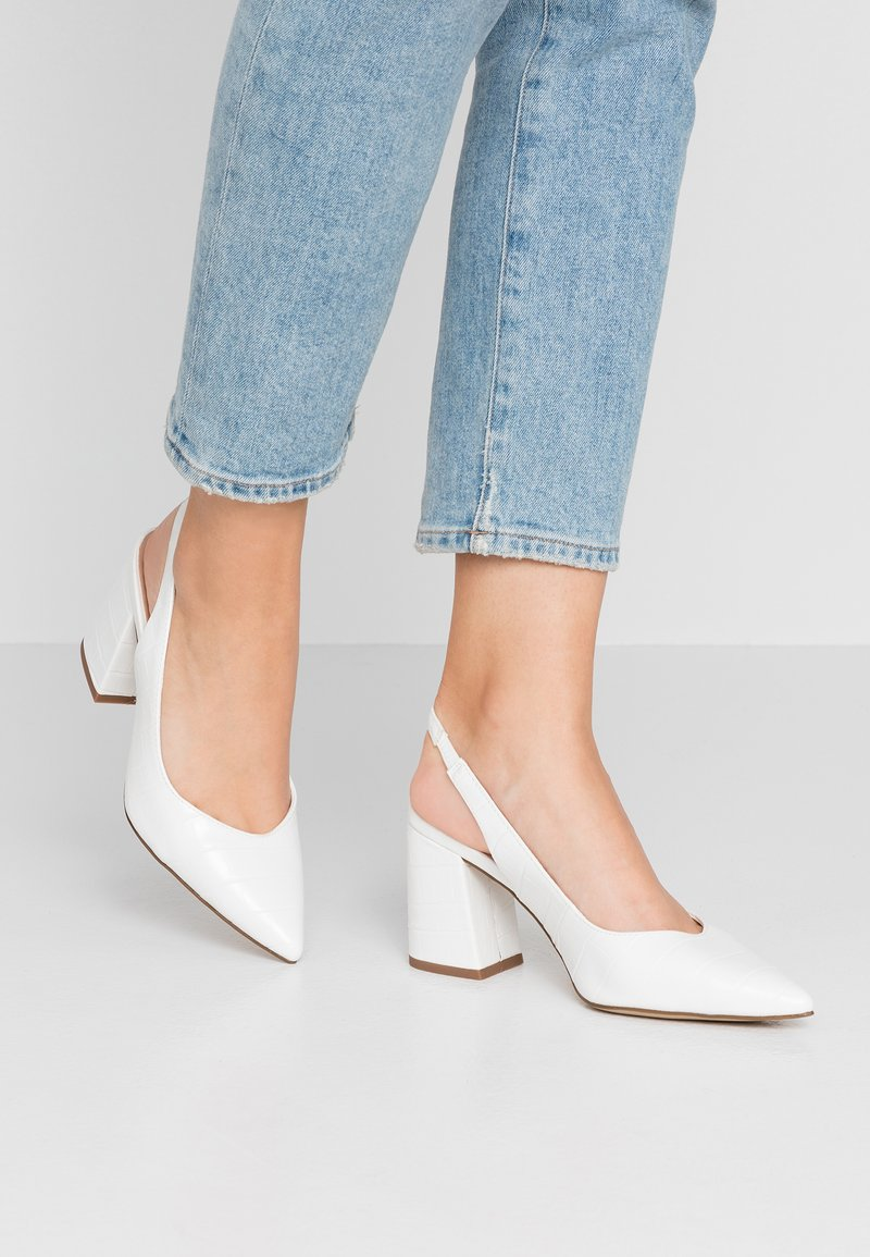 New Look - REY - Pumps - white