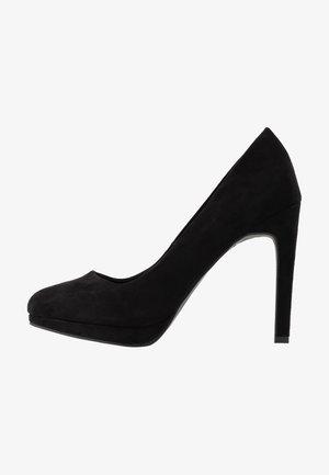 REIGN - Høye hæler - black