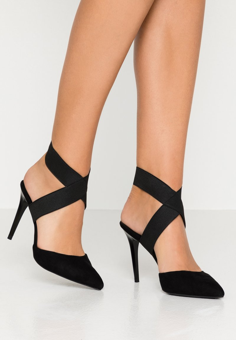 New Look - SELASTIC - High heels - black
