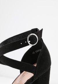 New Look - SAXO - Hoge hakken - black - 2