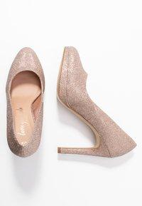 New Look - REIGN - Lodičky na vysokém podpatku - rose gold - 3
