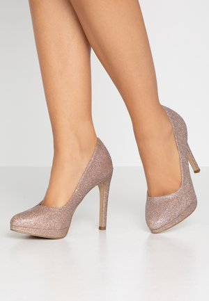 REIGN - High heels - rose gold