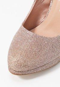 New Look - REIGN - Lodičky na vysokém podpatku - rose gold - 2