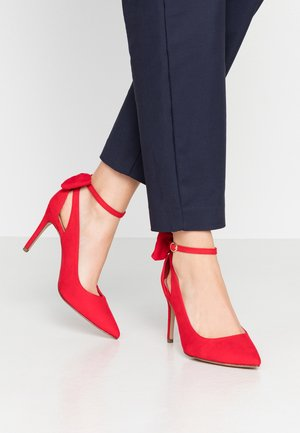 TIEDUP - High heels - bright red