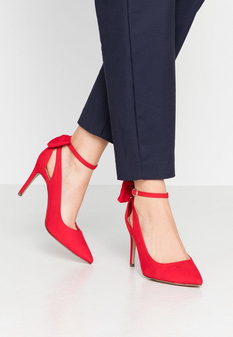 New Look - TIEDUP - High heels - bright red
