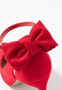 New Look - TIEDUP - High heels - bright red - 2