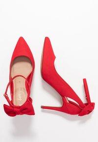New Look - TIEDUP - High heels - bright red - 3