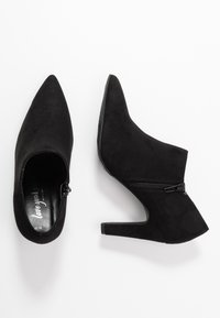 New Look - SPINNY - High heeled ankle boots - black - 3