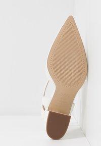 New Look - RAYLA - Lodičky na vysokém podpatku - white - 6