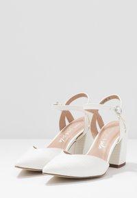 New Look - RAYLA - Lodičky na vysokém podpatku - white - 4