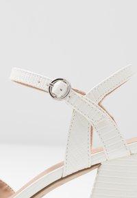New Look - RAYLA - Lodičky na vysokém podpatku - white - 2