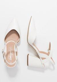 New Look - RAYLA - Lodičky na vysokém podpatku - white - 3