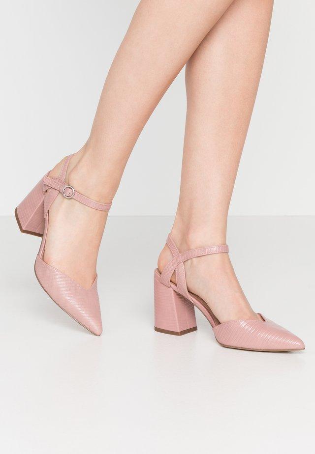 RAYLA - Lodičky na vysokém podpatku - light pink