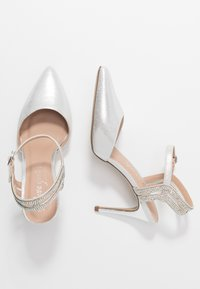 New Look - SPECTACLE - High heels - silver - 3