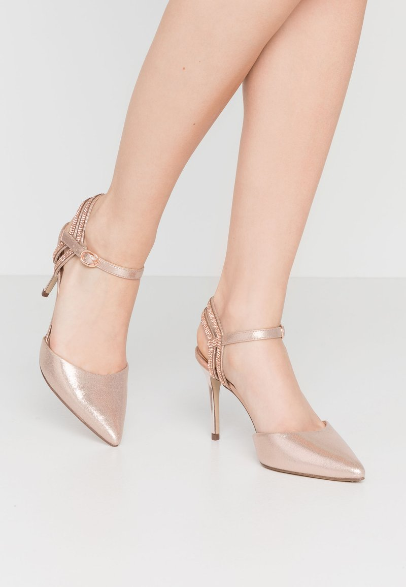 New Look - SPECTACLE - High heels - rose gold