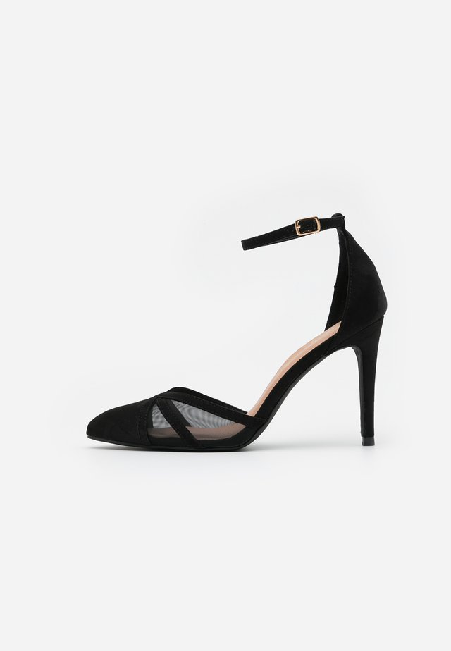 STRIPE  - Højhælede pumps - black