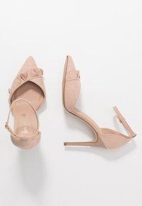 New Look - PROSECCO - High heels - oatmeal - 3
