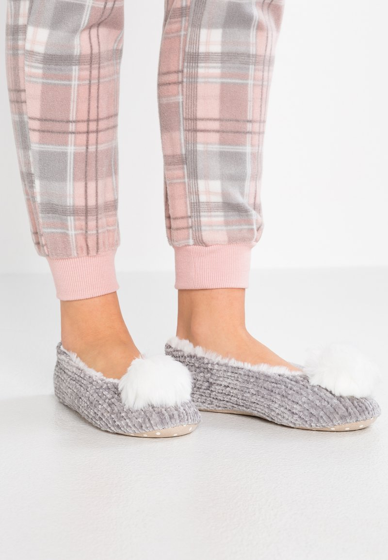 New Look - NILLE - Slippers - mid grey