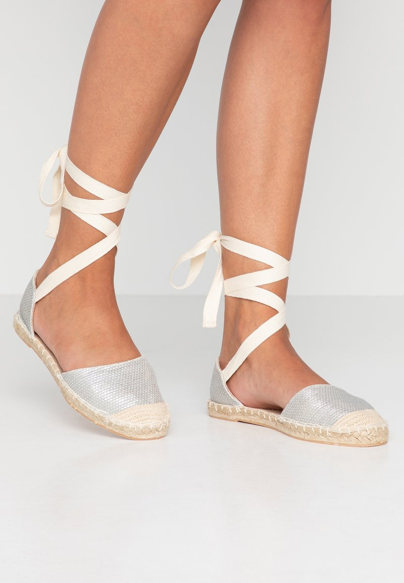New Look - MOON - Espadrilles - silver