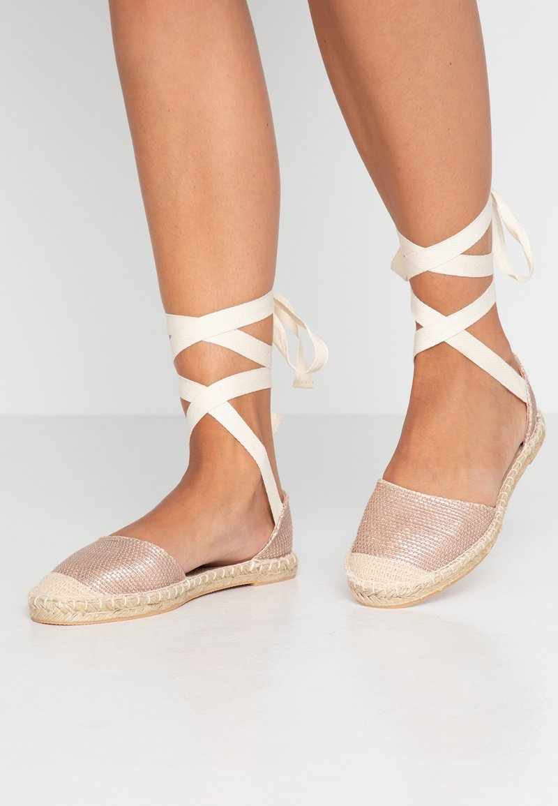 New Look - MOON - Espadrilles - rose gold