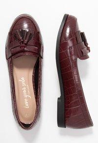 New Look - KAIRY - Slip-ons - dark burgundy - 3