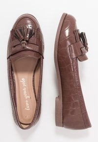 New Look - KAIRY - Slip-ons - mid brown - 3