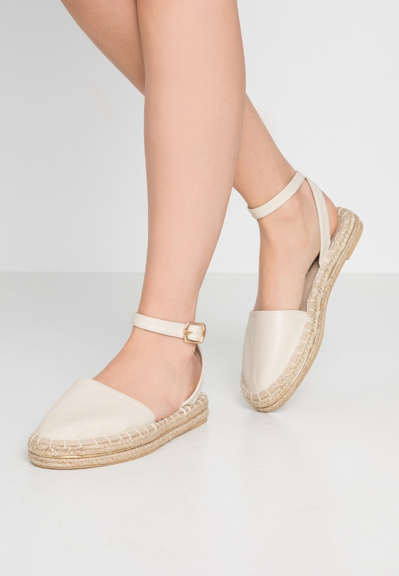 New Look - MOGUE - Espadrilles - offwhite