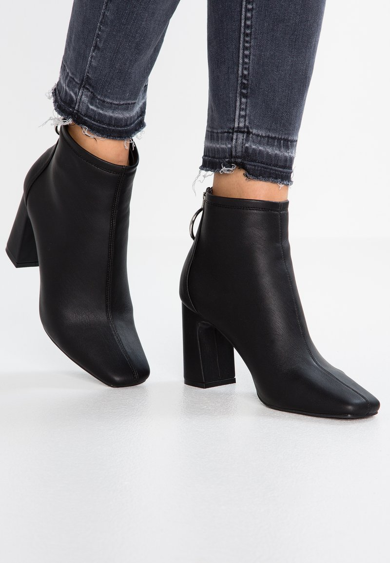 New Look - CARAMEL - Ankle boots - black