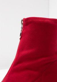 New Look - CIRCLE - Botines - bright red - 2