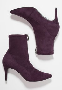 New Look - CIRCLE - Botines - dark purple - 3