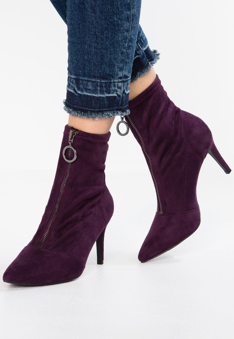 New Look - CIRCLE - Botines - dark purple