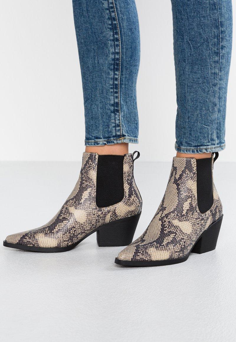 New Look - BROOK  - Korte laarzen - black