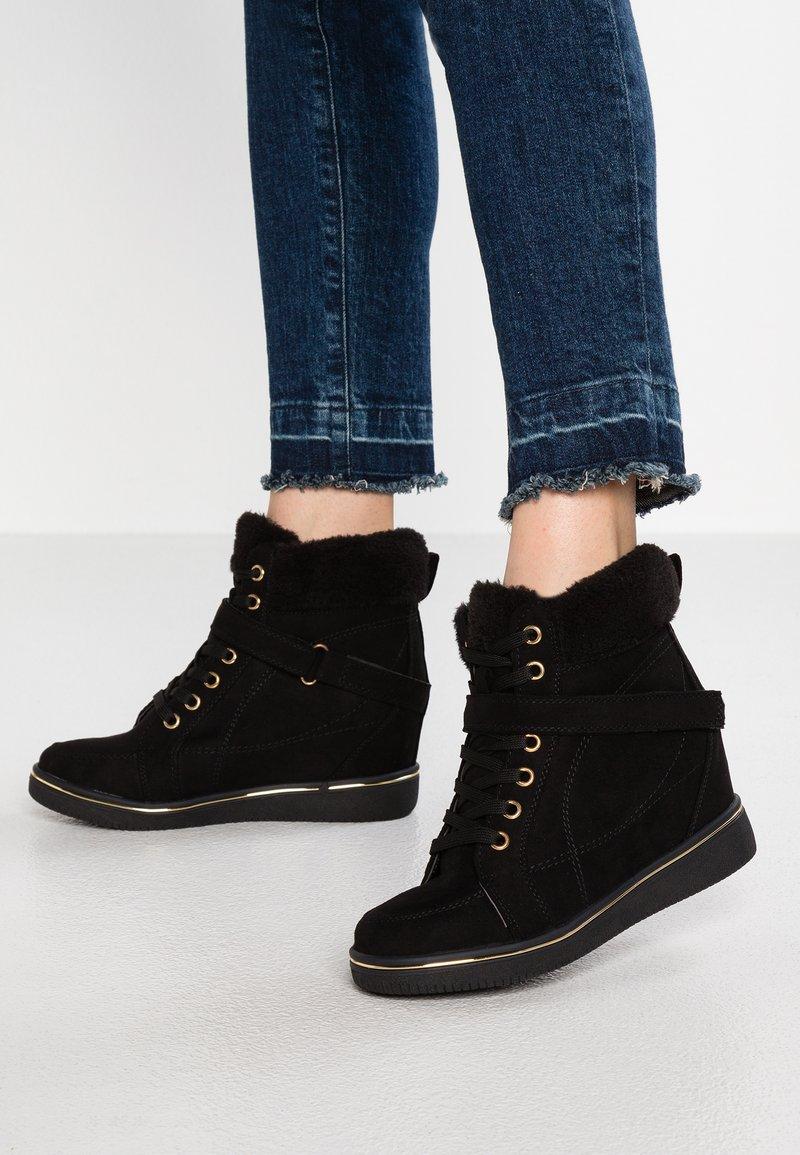 New Look - MUDGEY - Støvletter - black