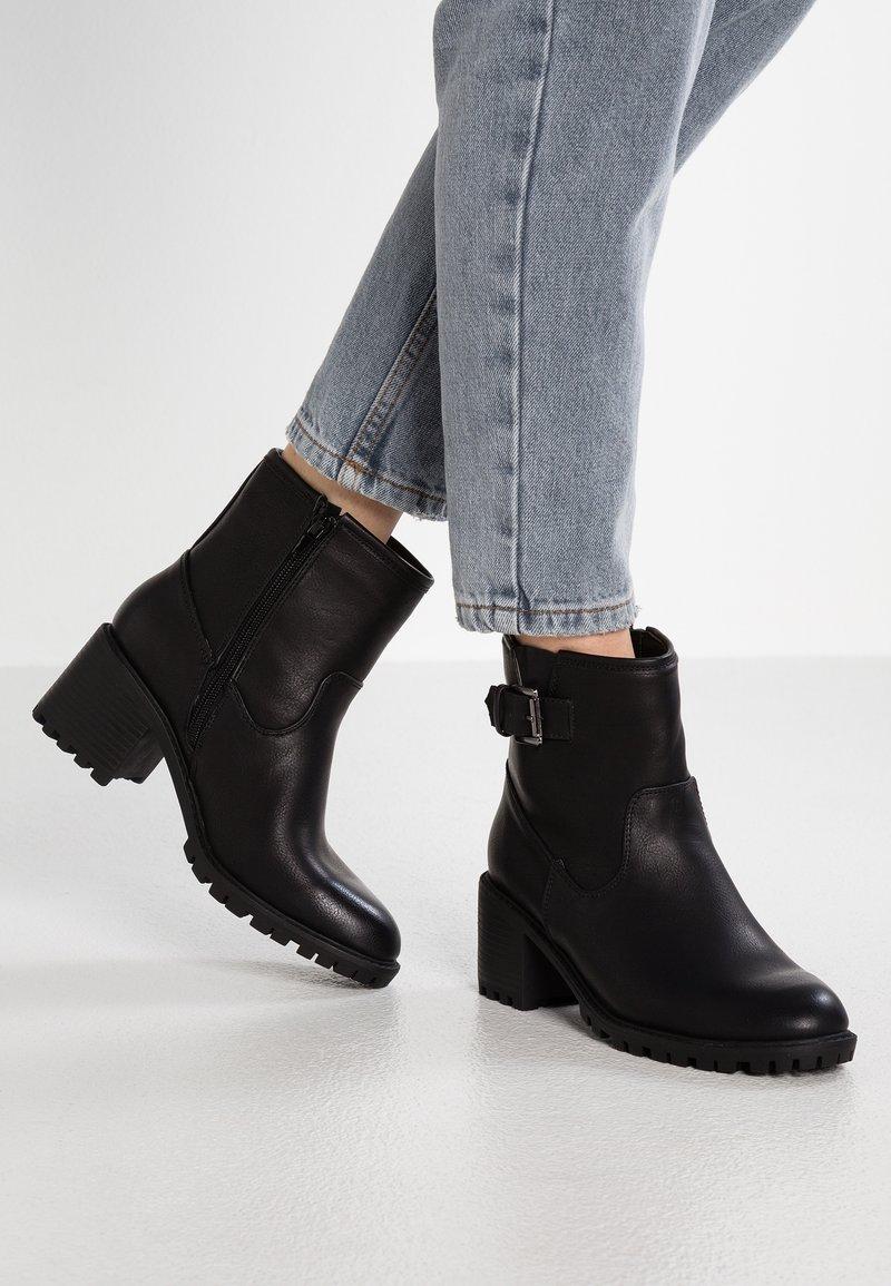 New Look - BIKE - Støvletter - black