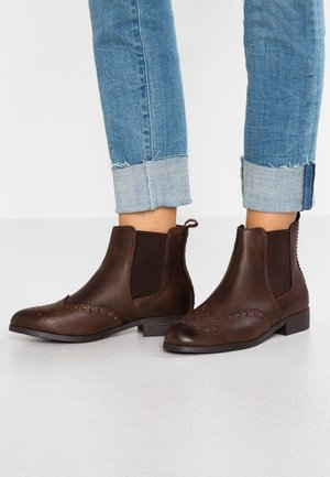 CHRISTINA - Ankle boots - mid brown
