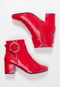 New Look - COOPER - Classic ankle boots - bright red - 3