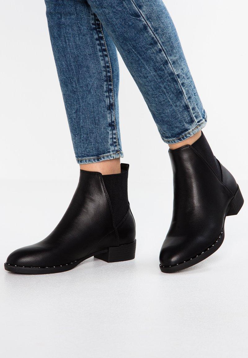 New Look - DOUG - Korte laarzen - black