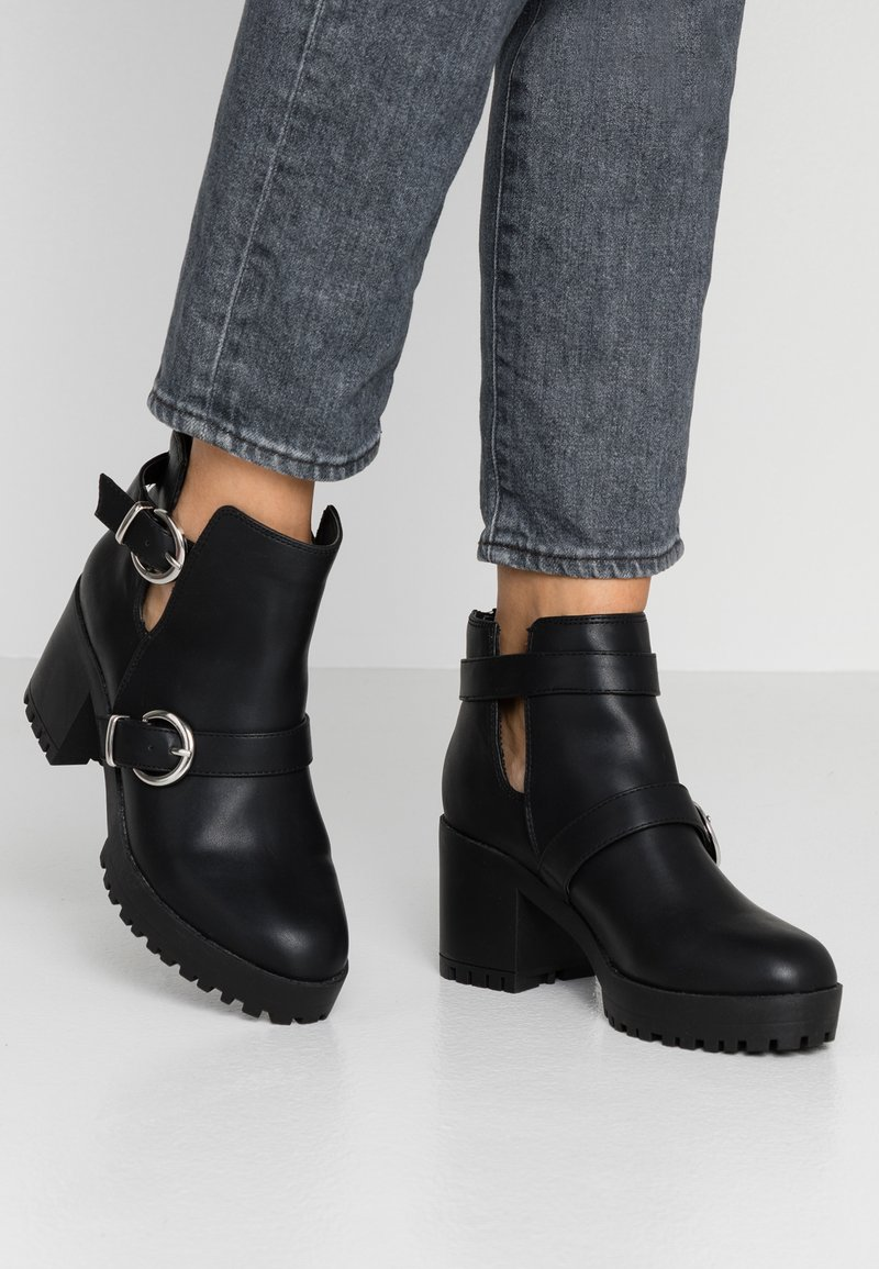 New Look - CUTTY - Ankle boots - black