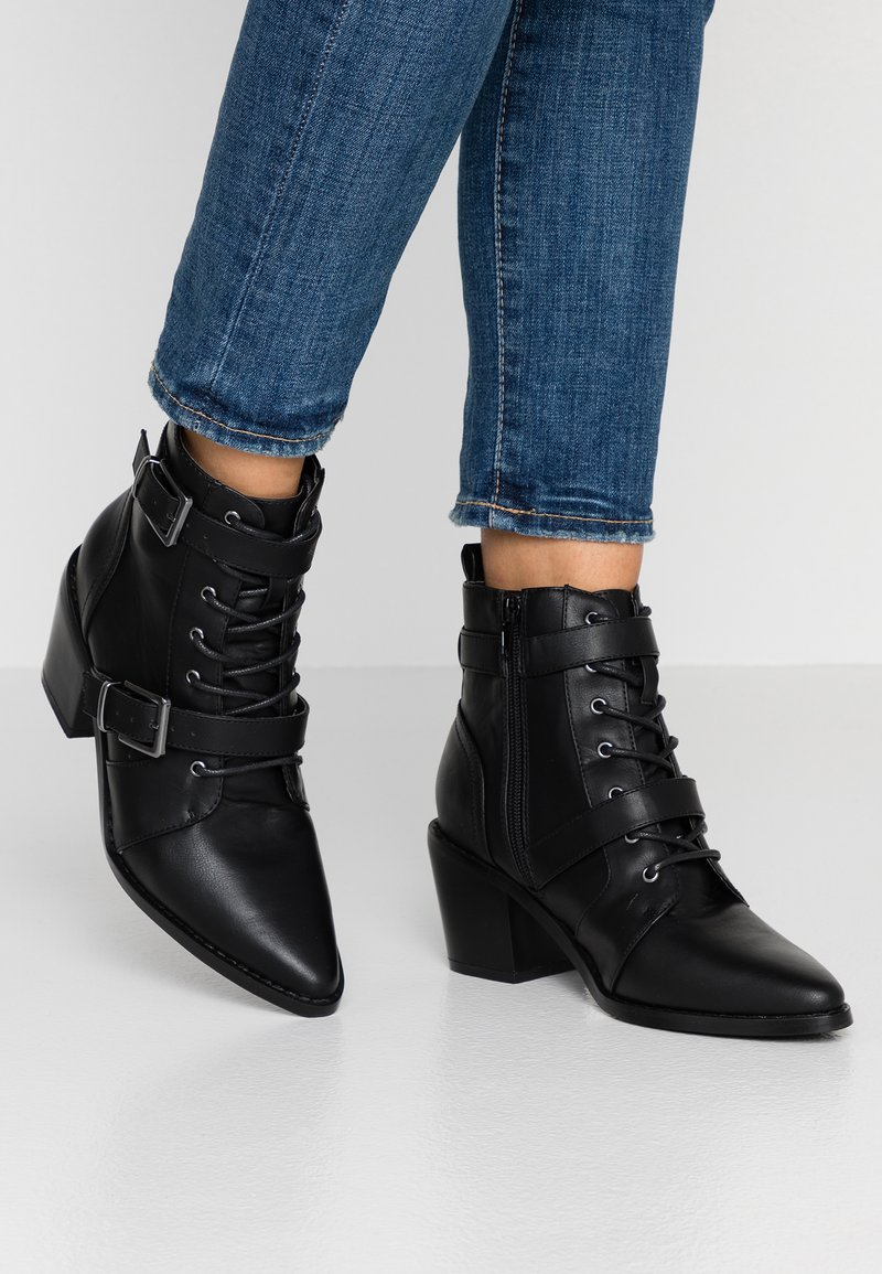 New Look - GIDDY - Bottines à lacets - black