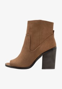 New Look - PEST - High heeled ankle boots - tan - 1