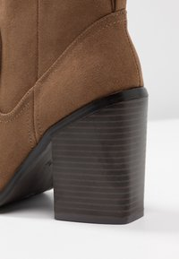 New Look - PEST - High heeled ankle boots - tan - 2