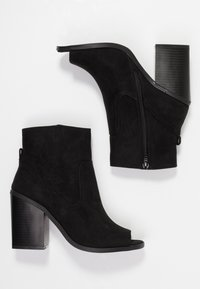 New Look - PEST - High heeled ankle boots - black - 3