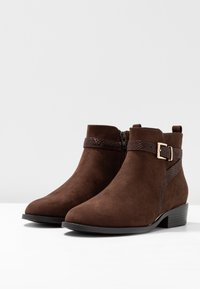 New Look - ADDITION - Ankle boots - brown - 4