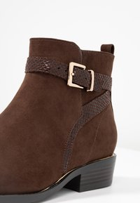 New Look - ADDITION - Ankle boots - brown - 2