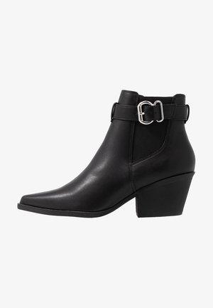 BRICK - Boots à talons - black