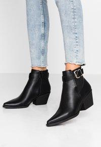 New Look - BRICK - Kotníková obuv - black - 0